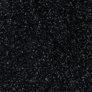 Noire Black granite style finish