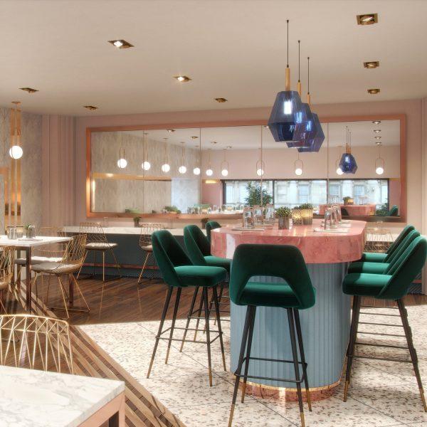 Pretty in pink Restaurant inspiration