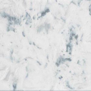 Silver stratos metallic marble