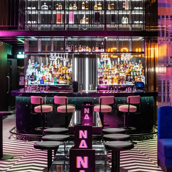 marble bar panels